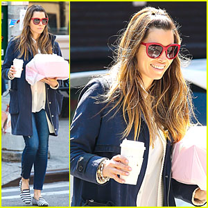 Jessica Biel: It's Okay to Have a Margarita Now!
