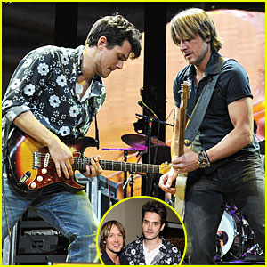 John Mayer & Keith Urban: Crossroads Guitar Festival Performers!