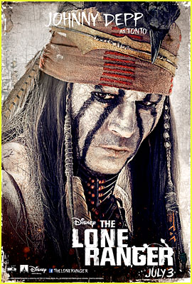 Johnny Depp: 'Lone Ranger' Final Trailer & Character Posters!