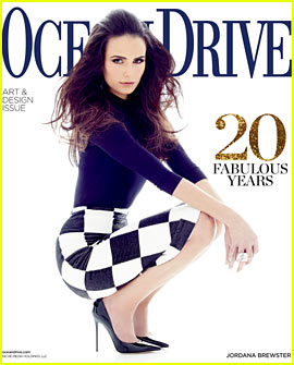 Jordana Brewster Covers 'Ocean Drive' April 2013
