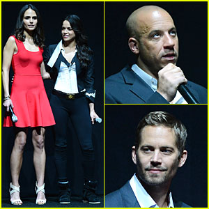 Vin Diesel & Paul Walker: 'Fast & Furious 6' CinemaCon Presentation!