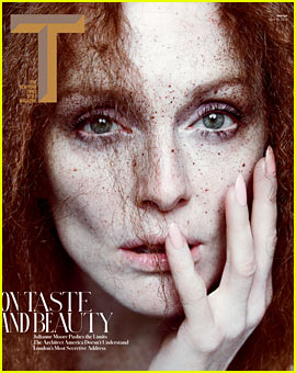 Julianne Moore Covers 'T' Magazine