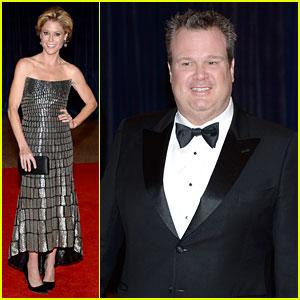 Julie Bowen & Eric Stonestreet - White House Correspondents' Dinner 2013