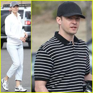 Justin Timberlake & Jessica Biel: Golfing Date Duo!