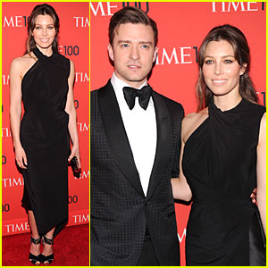 Justin Timberlake & Jessica Biel - Time 100 Gala 2013 Red Carpet