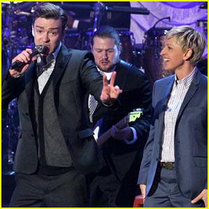 Justin Timberlake Talks Jessica Biel Marriage on 'Ellen'!