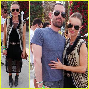 Kate Bosworth & Michael Polish: Topshop Twosome at Coachella!