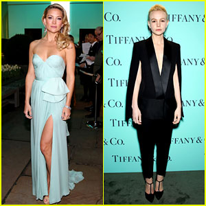 Kate Hudson & Carey Mulligan: Tiffany Blue Book Gala!