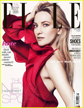 Kate Hudson Covers 'Elle UK' May 2013