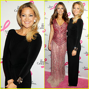 Kate Hudson & Elizabeth Hurley: Hot Pink Party Pair!