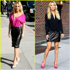 Kate Hudson: 'Late Show with David Letterman' Guest!