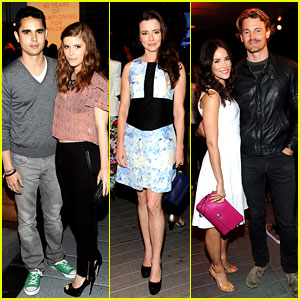 Kate Mara & Max Minghella: Coach's Night of Shopping!