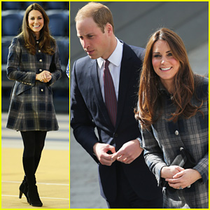 Kate Middleton: Pregnant Emirates Arena Visit with Prince William!