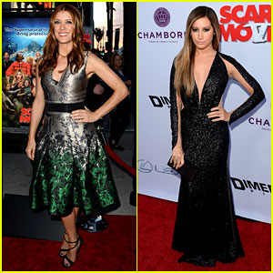Kate Walsh & Ashley Tisdale: 'Scary Movie 5' Premiere!