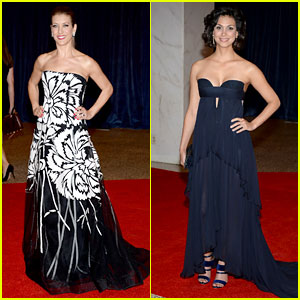 Kate Walsh & Morena Baccarin - White House Correspondents' Dinner 2013