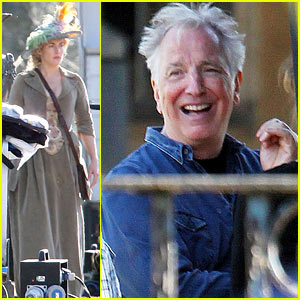 Kate Winslet: Period Piece Costume on 'A Little Chaos' Set