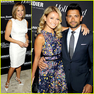 Katie Couric & Kelly Ripa: THR's Powerful People in Media!