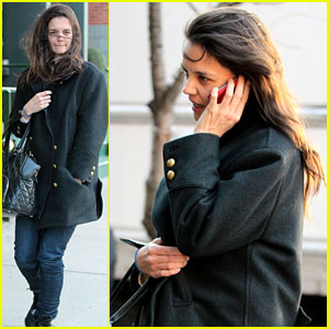 Katie Holmes Steps Out After Peter Cincotti Dating Rumors