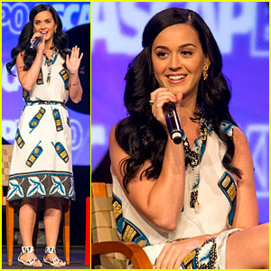 Katy Perry: Cell Phone Dress at ASCAP Expo Music Event!