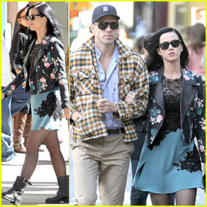 Katy Perry: New York Stroll with Johnny Wujek!