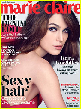 Keira Knightley Covers 'Marie Claire UK' May 2013