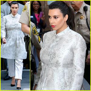 Kim Kardashian: Court Departure After Kris Humphries Divorce Case