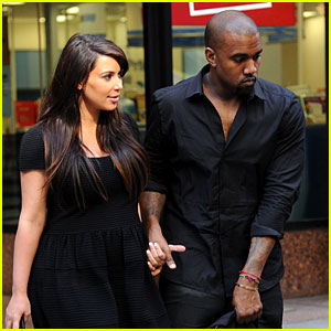 Kim Kardashian & Kanye West Rushed by Fan Wanting Photo