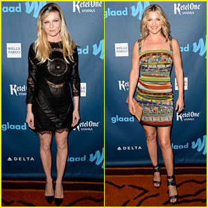 Kirsten Dunst & Ali Larter - GLAAD Media Awards 2013