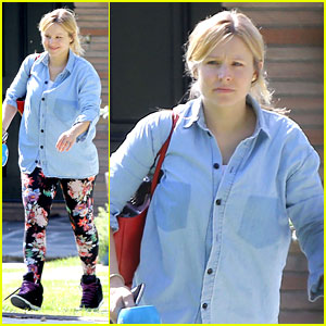 Kristen Bell Steps Out for First Time Since Giving Birth!