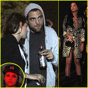 Kristen Stewart & Robert Pattinson: Coachella with Katy Perry!