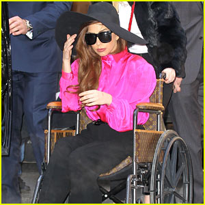 Lady Gaga: Wheelchair Recovery in New York City