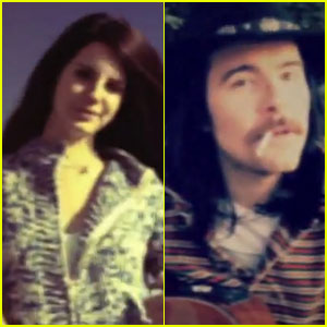 Lana Del Rey & Barrie-James O'Neill: 'Summer Wine' Video!