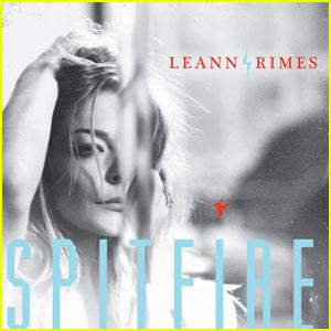 LeAnn Rimes:  'Spitfire' Artwork & Tracklisting!