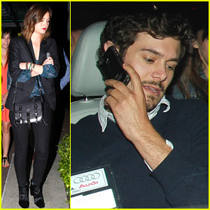 Leighton Meester & Adam Brody: ArcLight Movie Date with Pals! | Adam