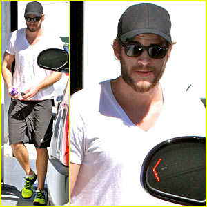 Liam Hemsworth: WeHo Gym Stop!