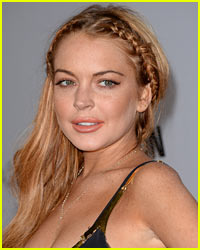 Lindsay Lohan Sports Bruised Legs in Venice