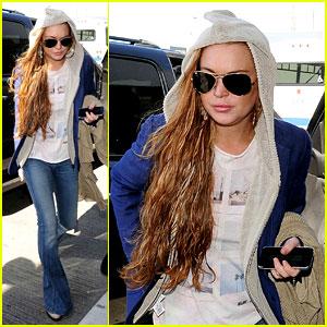 Lindsay Lohan: Just Sing It App's Newest Fan!