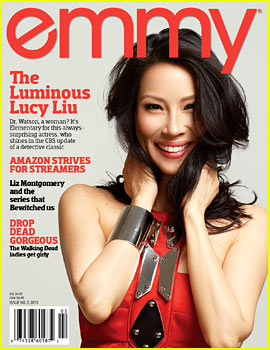 Lucy Liu Covers 'Emmy' Magazine Issue #2