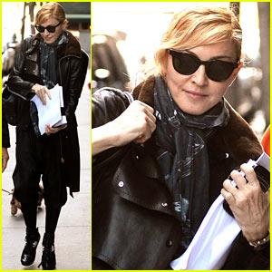 Madonna: Manhattan Business Meeting!