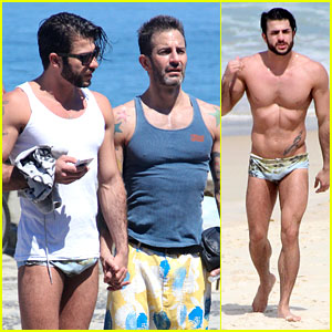 Marc Jacobs & Harry Louis: Speedo Sexy in Rio!