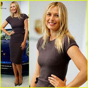 Maria Sharapova: Porsche's New Brand Ambassador!