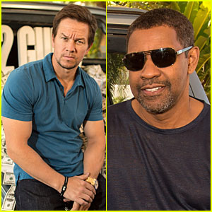 Mark Wahlberg & Denzel Washington: '2 Guns' Cancun Photo Call!