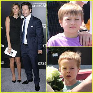 Mark Wahlberg & Rhea Durham: 'Pain & Gain' Hollywood Premiere!