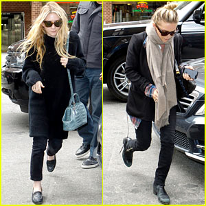 Mary-Kate & Ashley Olsen: Greenwich Hotel Visit!