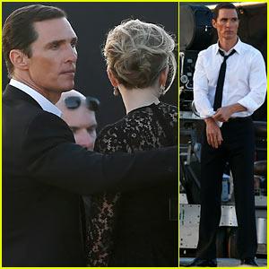 Matthew McConaughey & Scarlett Johansson: Dolce&Gabbana Ad Shoot!