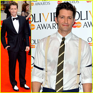Matthew Morrison Performs 'West Side Story' at Olivier Awards!