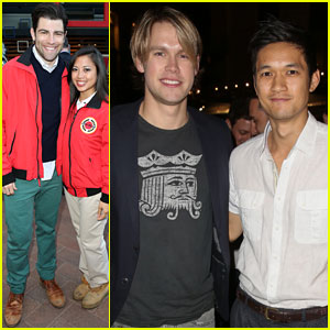 Max Greenfield & Chord Overstreet: City Year Los Angeles Fundraiser 2013