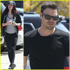 Megan Fox & Brian Austin Green: Sunday Lunch Lovebirds!
