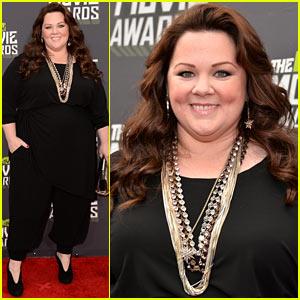 Melissa McCarthy - MTV Movie Awards 2013 Red Carpet