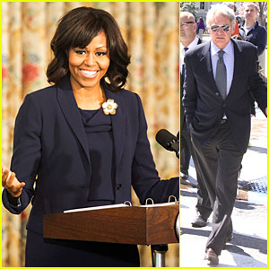 Michelle Obama: I'm Tripping Out On Harrison Ford!
